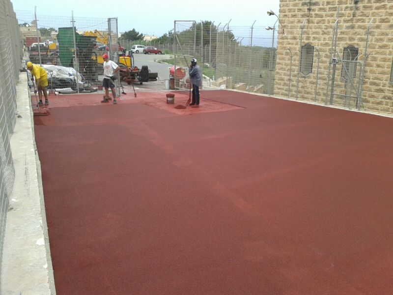 Works carried out at St Catherine High School
